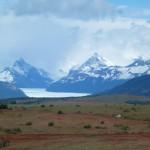 le glacier Perito Moreno est en vue