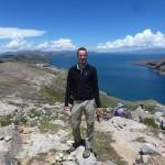 Sur la Isla del Sol, rive bolivienne