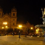33 J4- Cusco, Plazza de Armas by night (Copy)