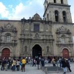 arrivée a La Paz