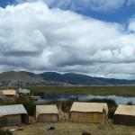 Les Islas Flottantes au large de Puno