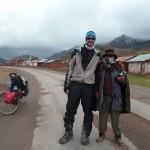 20- J13- km65, rencontre avec un local pur cru a Pilpichaca