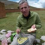 40- J17- km49, pause dejeuner, miam miam le guacamole maison