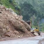 47- J18- Dans les 70km de descente entre Cerro et Huanuco, 10e glissement de terrain