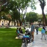 50- J19- Quelques heures de pause a Huanuco, la grosse chaleur c'est bon