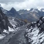 62- J22- km30, montee de l'Abra Yanashalla Superieur, l'asphalte c'est fini