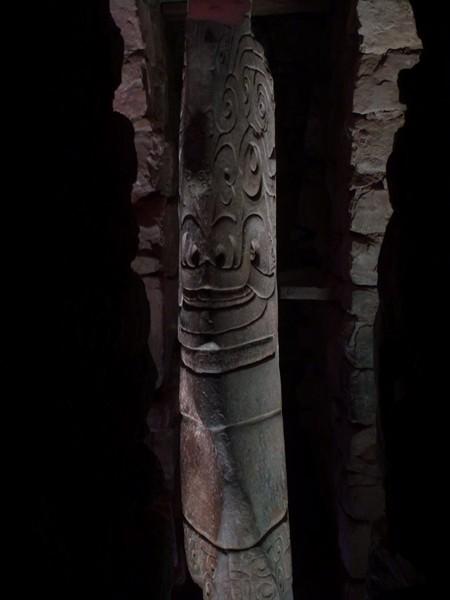 2 pierre de Chavin, sculture de plus de 300 ans